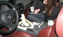 Ремонт салона автомобиля